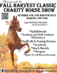 Fall Harvest Classic Charity Horse show